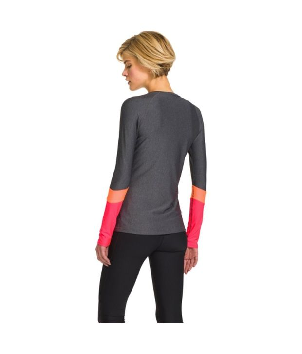 Under Armour Under Armour Women's Heatgear Alpha Novelty Long Sleeve Shirt, Picasso Blue/black/msv