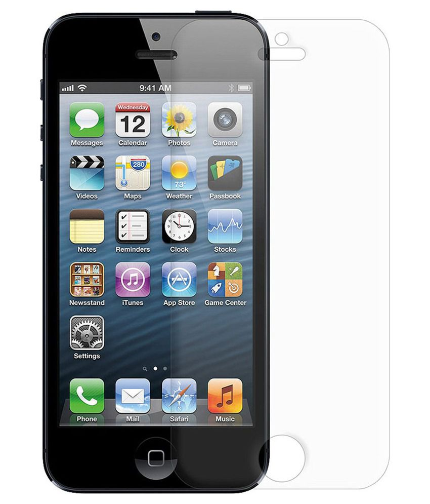 Mobile Zone Tempered Glass Screen Guard For Apple Iphone 5