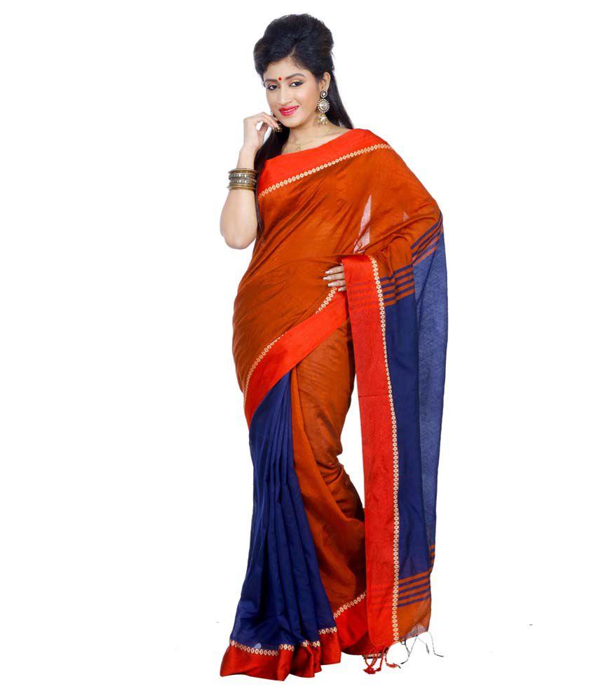 B3fashion Multicoloured Silk Saree
