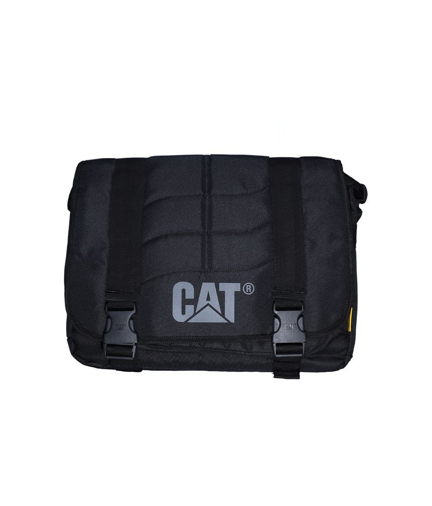 Cat Black Laptop Bag