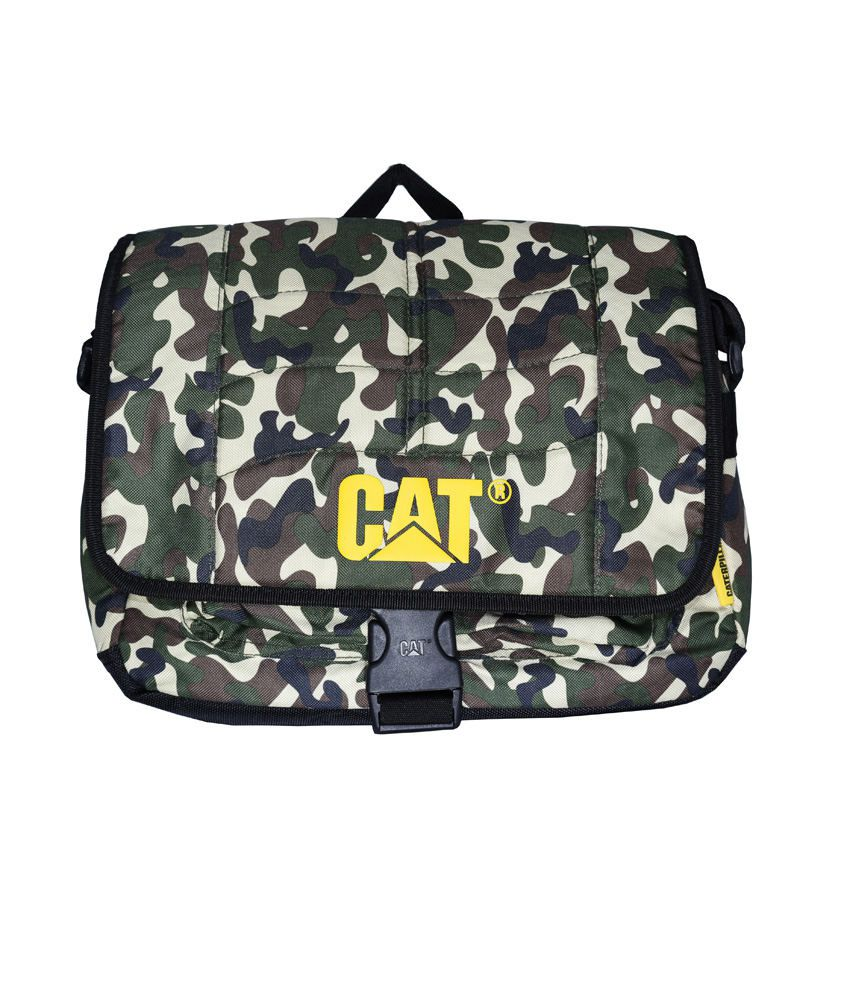 Cat Multicolour Laptop Bag