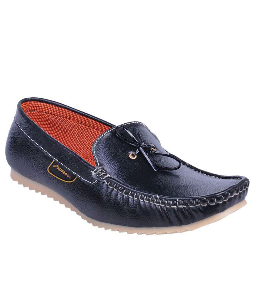 SHOEBOOK Black Loafers