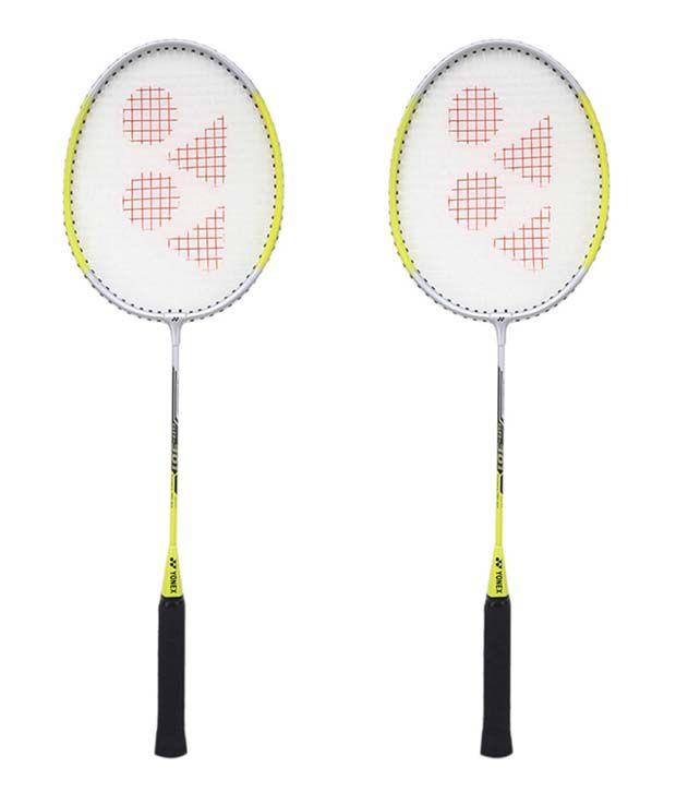 Yonex GR 301 Badminton Racquet  Assorted  Grip Size G4   Pack of 2