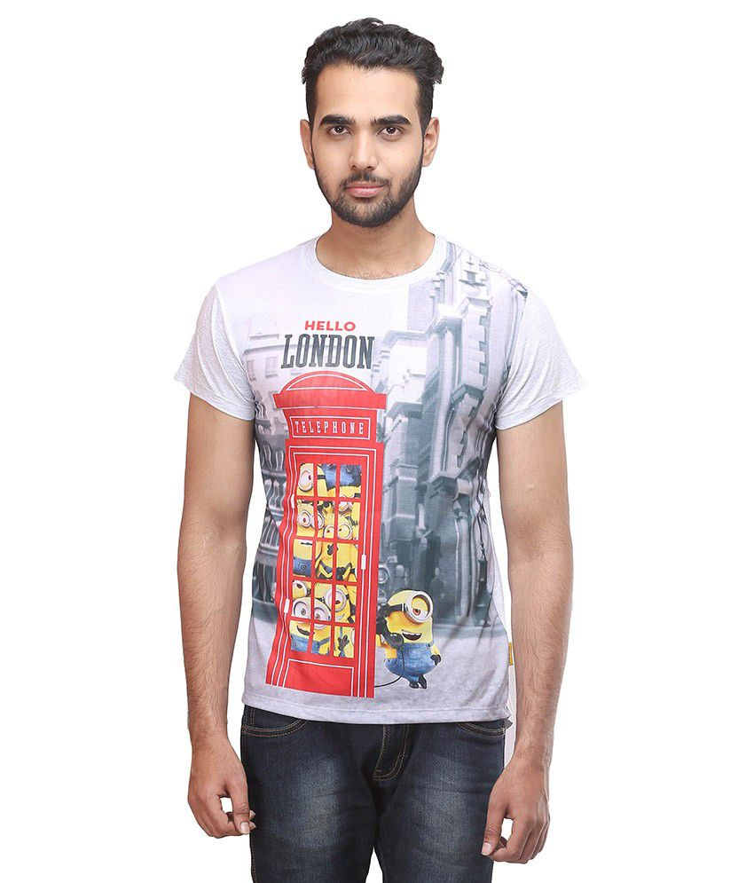5d2c848e Minions Multicolor Cotton T-shirt - Buy Minions Multicolor Cotton T-shirt  Online at Low Price - Snapdeal.com