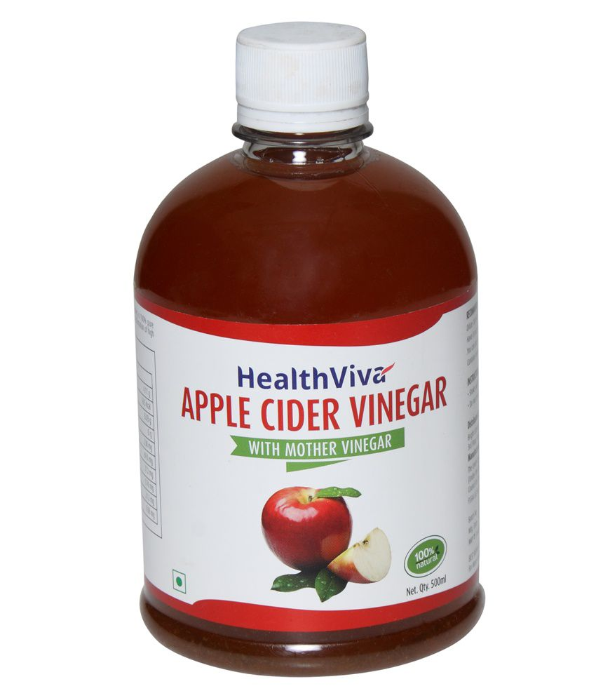 HealthViva Apple Cider Vinegar (With Mother Vinegar) 500 ml