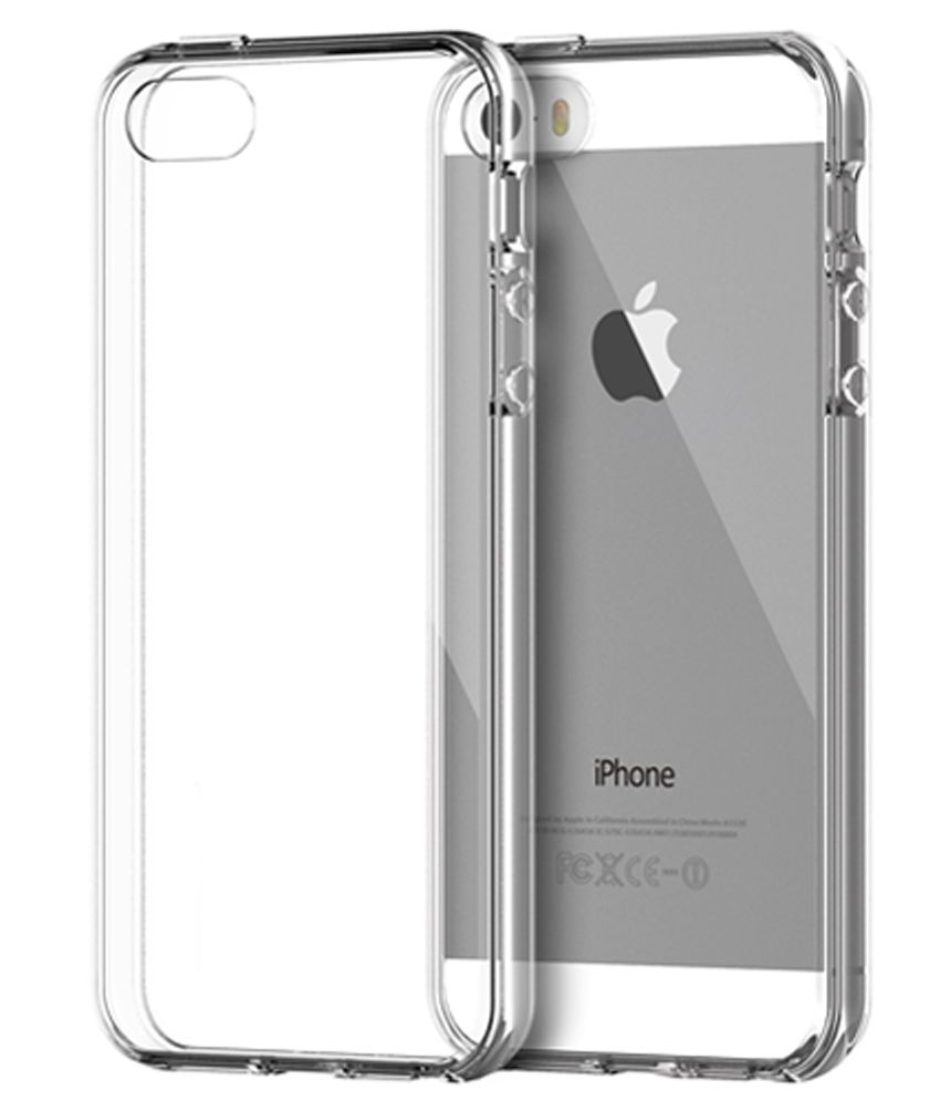 ff38d8bc4 Neeshee Plain Back Cover Case For Apple Iphone 5s - Transparent - Plain Back  Covers Online at Low Prices