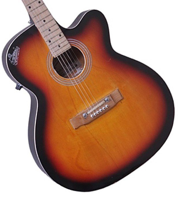Signature Gogos 265 Topaz Series Acoustic Guitar W Cut W Eq
