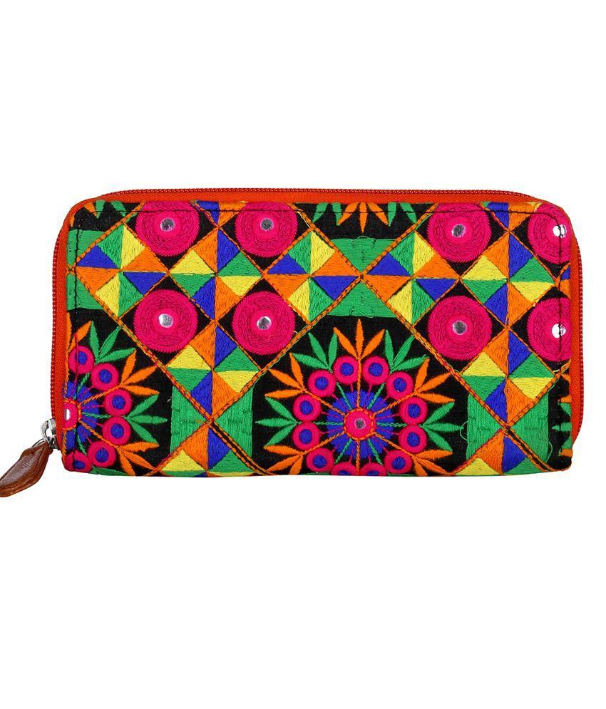 Rajrang Multicolour Regular Wallet For Women