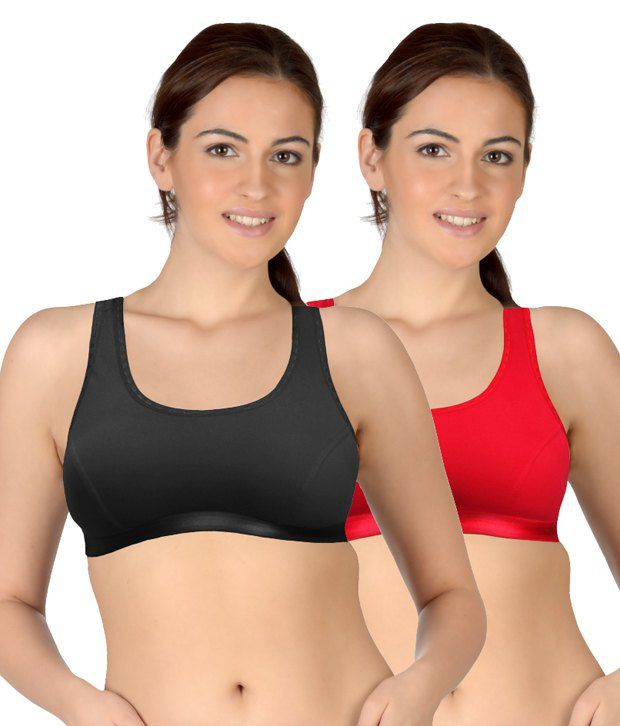 dd2043de56 Buy Selfcare Black Cotton Bra Online at Best Prices in India - Snapdeal