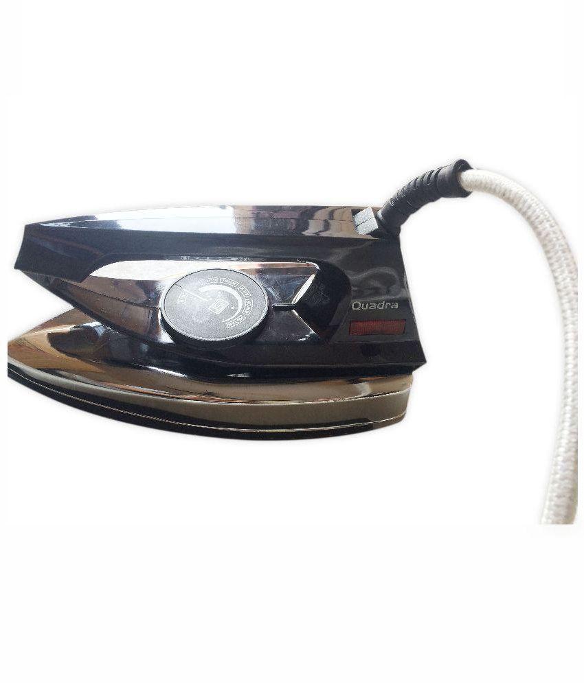 QUADRA QUADRA DRY IRON QDI-100 Dry Iron Black