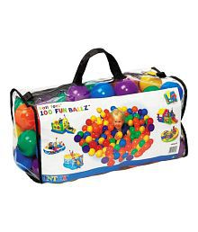 Intex Fun Multicolour Balls 100 Pcs