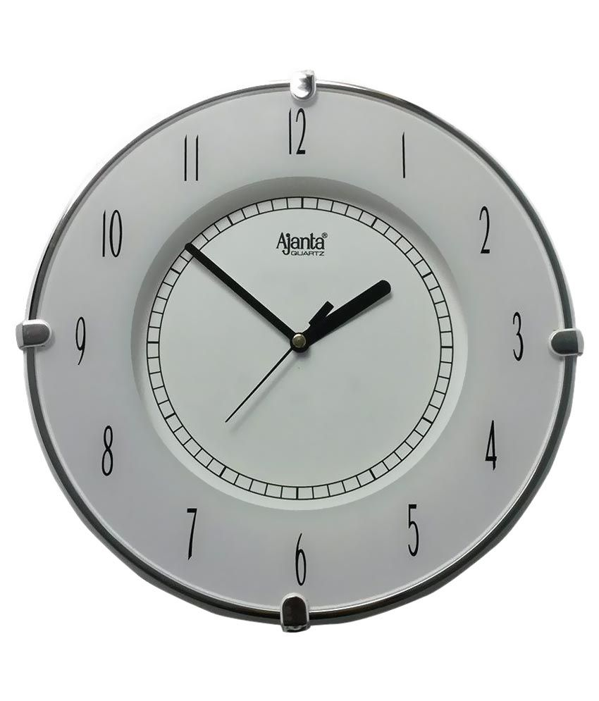 Ajanta White Wall Clock: Buy Ajanta White Wall Clock at ...