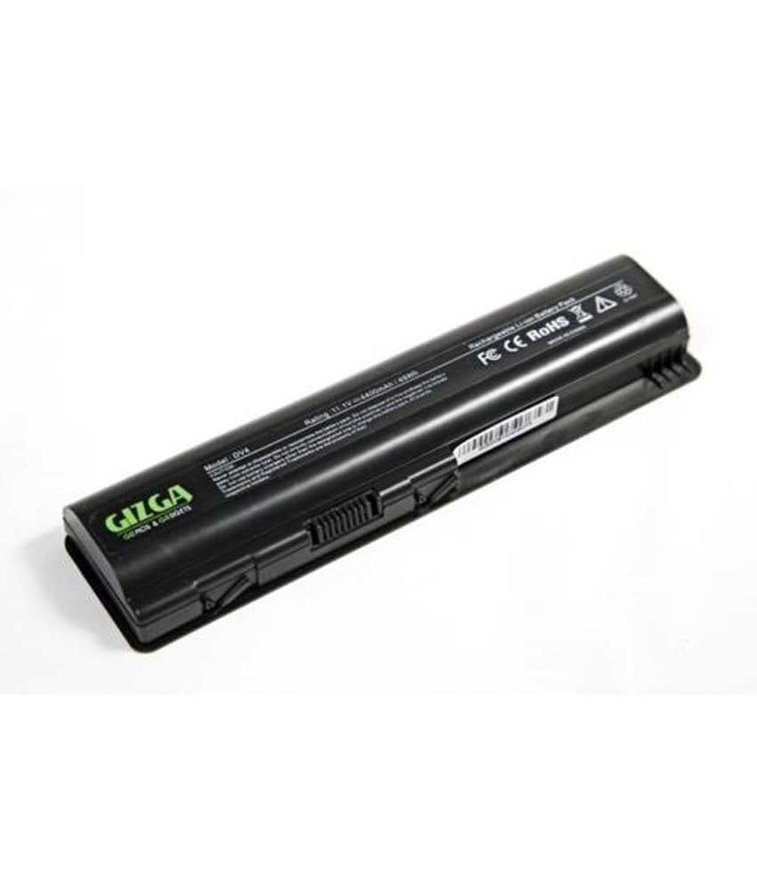 Gizga 4400mah 6 Cell Lithium-ion Battery For 6-cell Hp Pavilion Dv4 Dv5 Dv6 And Compaq Presario Cq40 Cq50 Cq60 Cq61 Laptop Models
