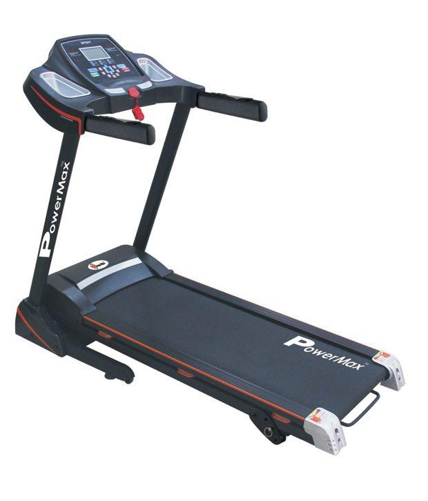 Powermax Fitness TDM-100 S Motorized Treadmill 1.5 HP: Buy