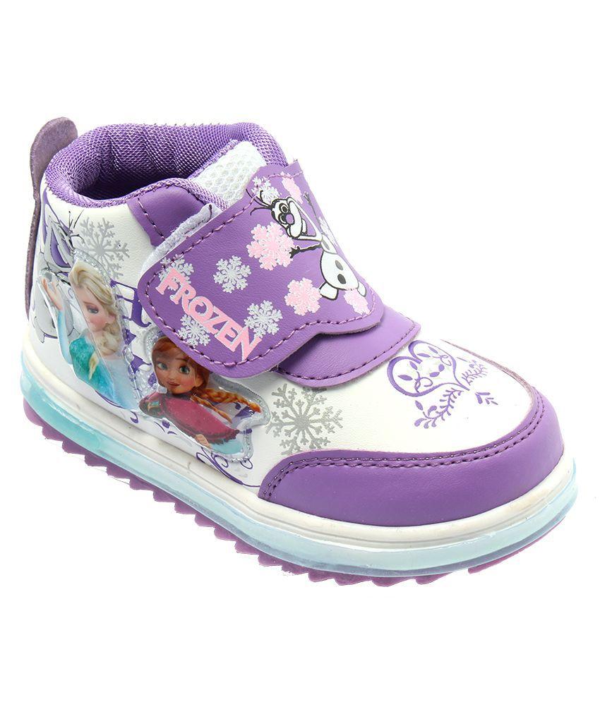 9550e5543e6 Frozen Purple Sports Shoes For Kids Price in India- Buy Frozen ...