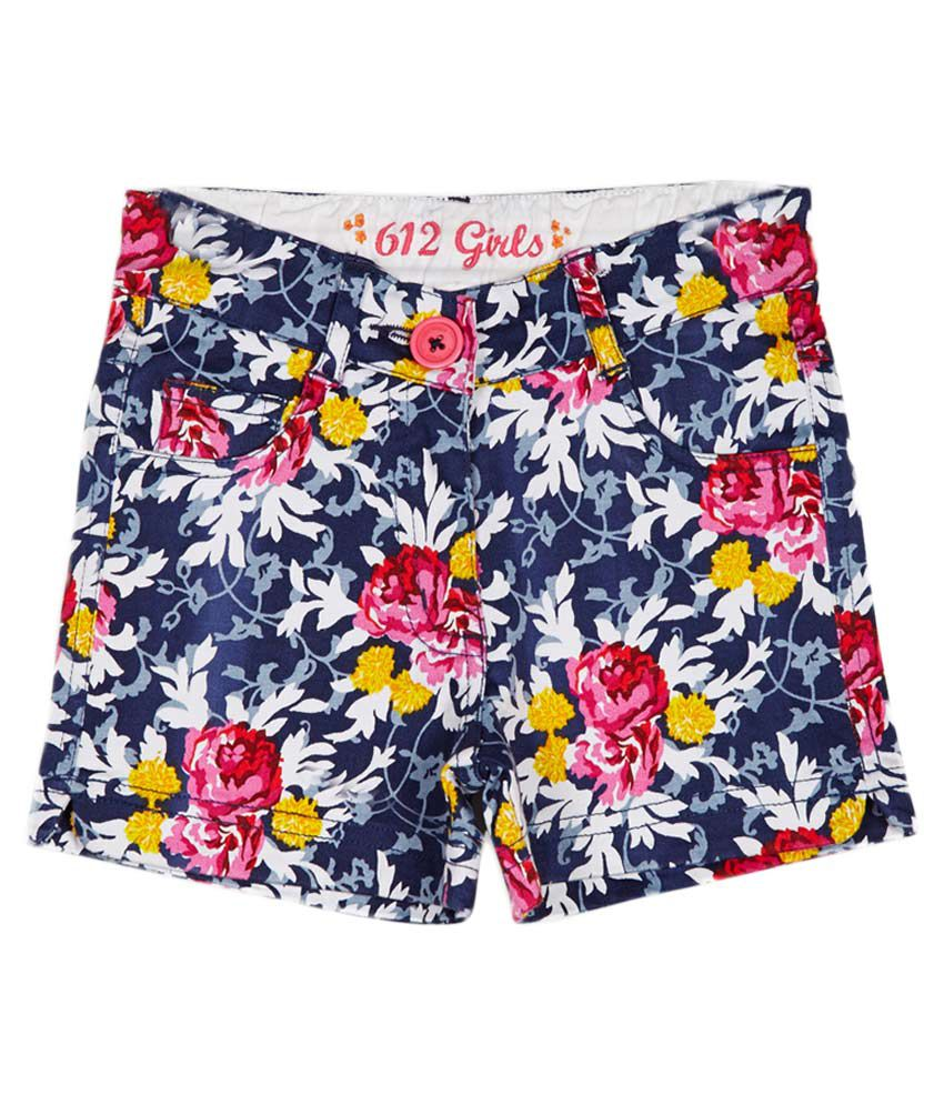 612 League Navy Skirt set