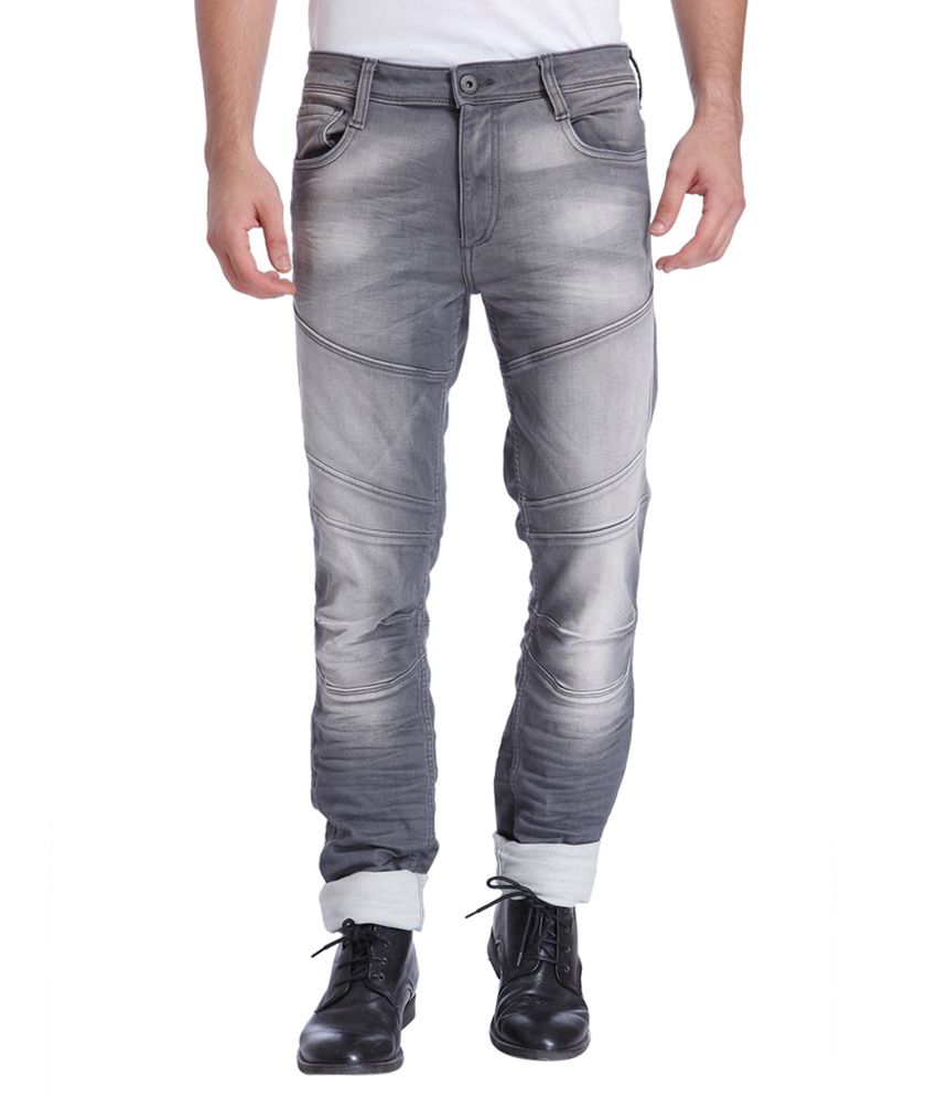 Jack & Jones Grey Slim Fit Jeans