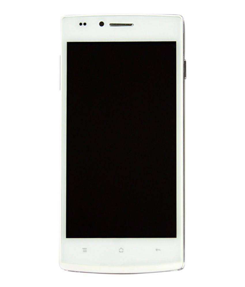 TRY Good One Honor Classic F7 Pearl White + Jellybean + 5  Full HD Display + Dual Camera + Dual Sim + 8mm Thin
