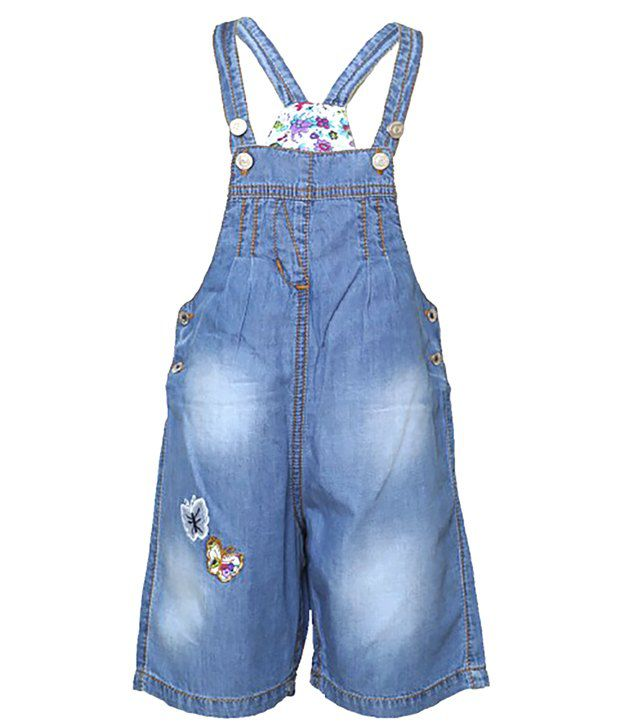 Tales & Stories Blue Denim Dungree