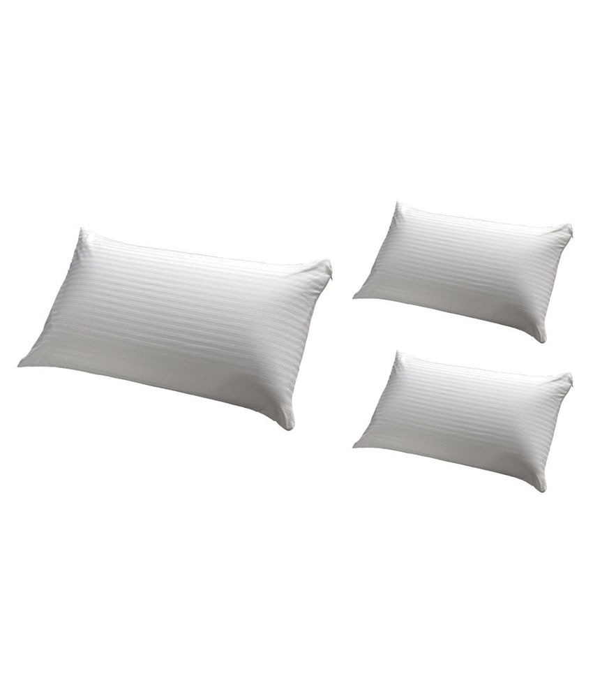 Jdx White Pillow Pack Of 3