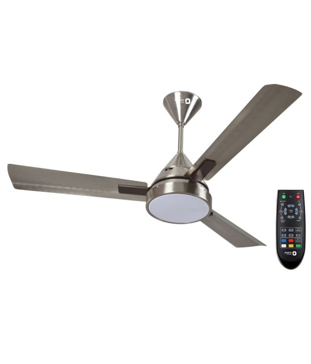 Orient Electric 48 Spectra Pewter Finish Ceiling Fan Light