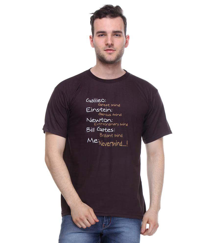 Opg Maroon Cotton T-shirt