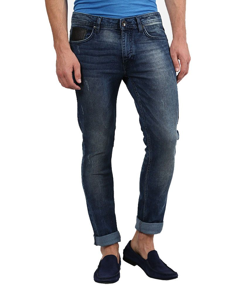The Colors Blue Regular Fit Jeans