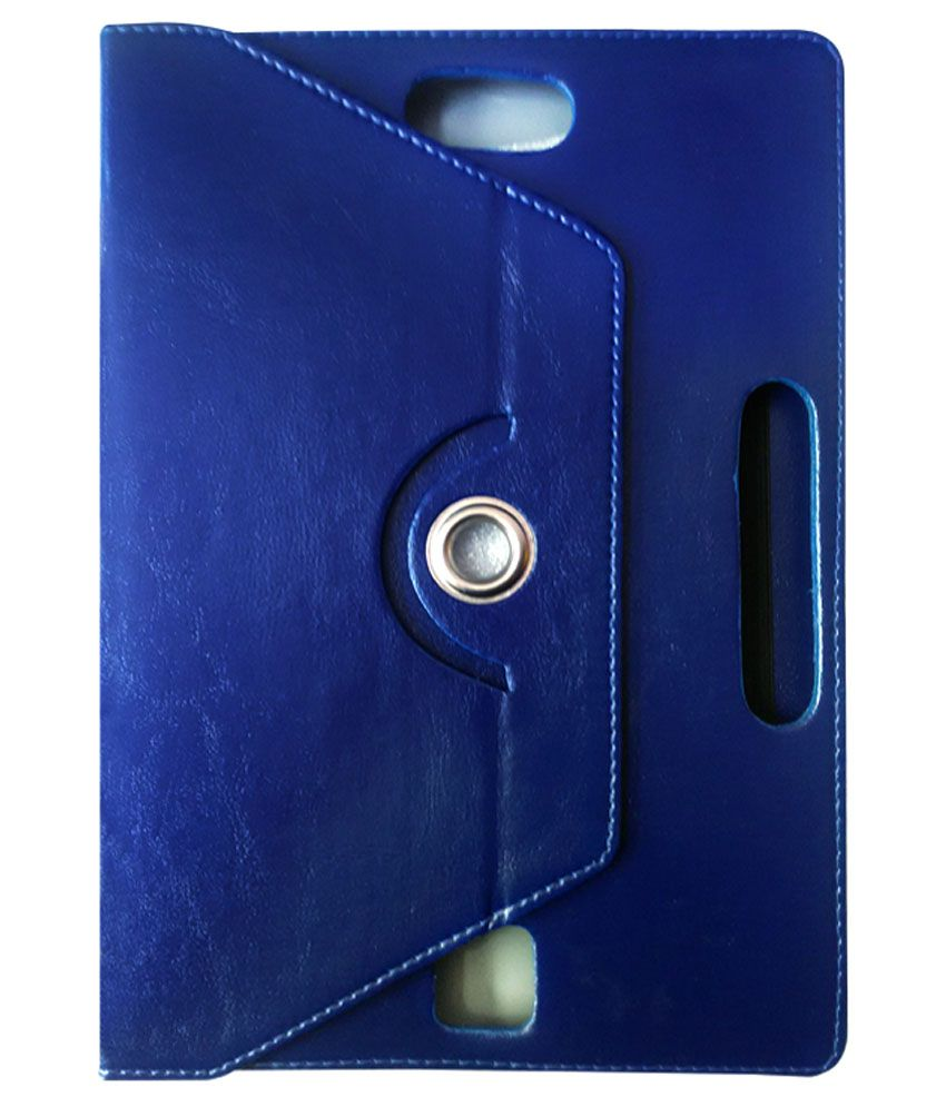 Fastway 360 Degree Rotating Tablet Book Cover For Lenovo Ideapad Miix 300 - 10 - Blue