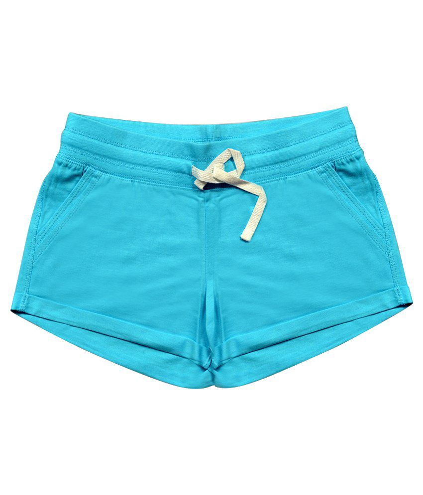 Honeypossum Blue Shorts For Girls