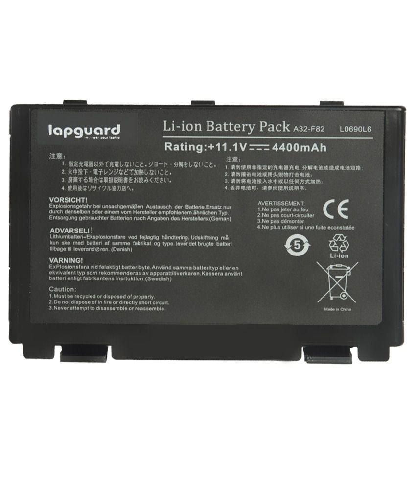 Lapguard 4400 Mah Lithium-ion Replacement Battery Laptop Battery For Asus Pr065