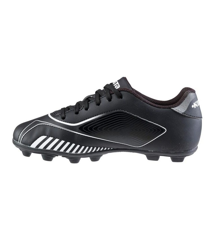 Kipsta Agility 300 Kids Football Studs (Shoes) Black By Decathlon