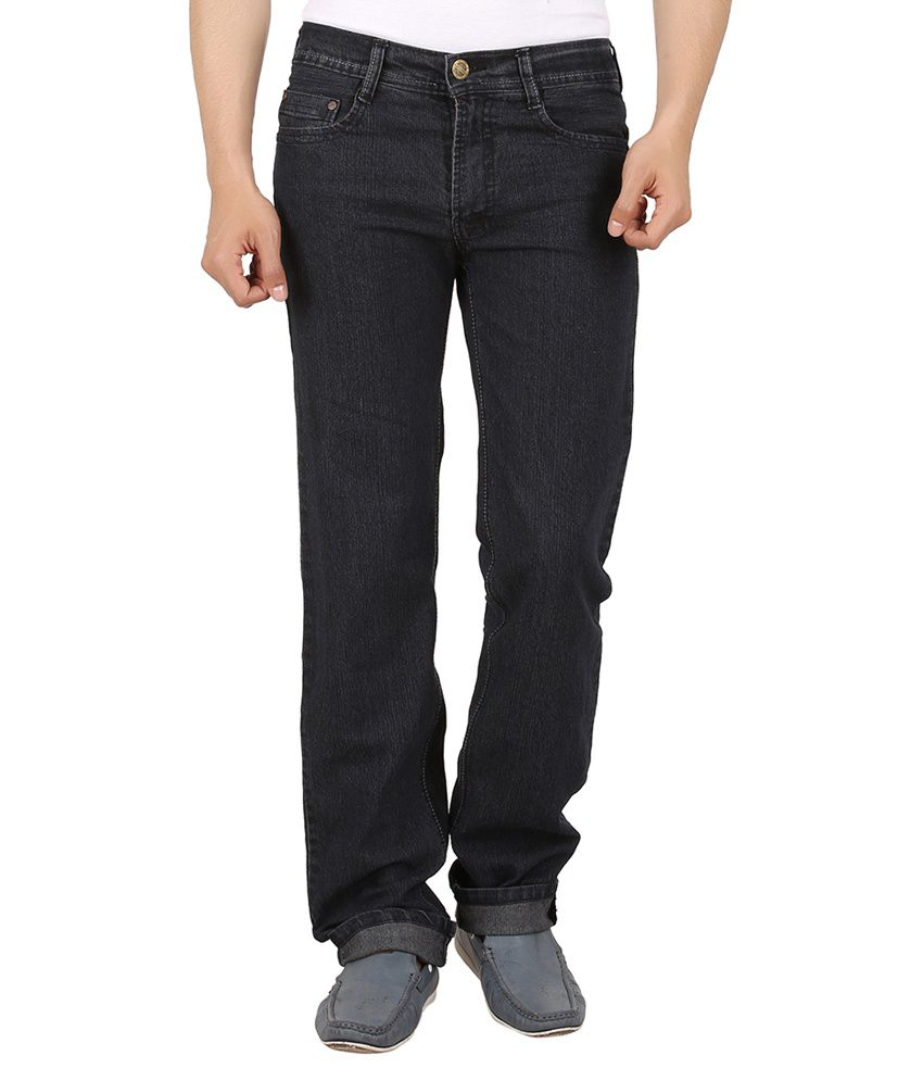 Maks Brown Comfort Fit Jeans
