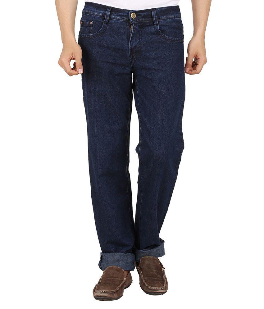 Maks Dark Blue Comfort Fit Jeans