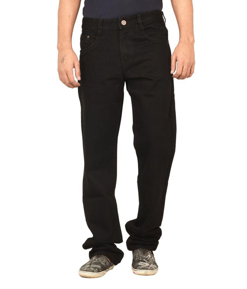 Gamps Black Skinny Fit Jeans