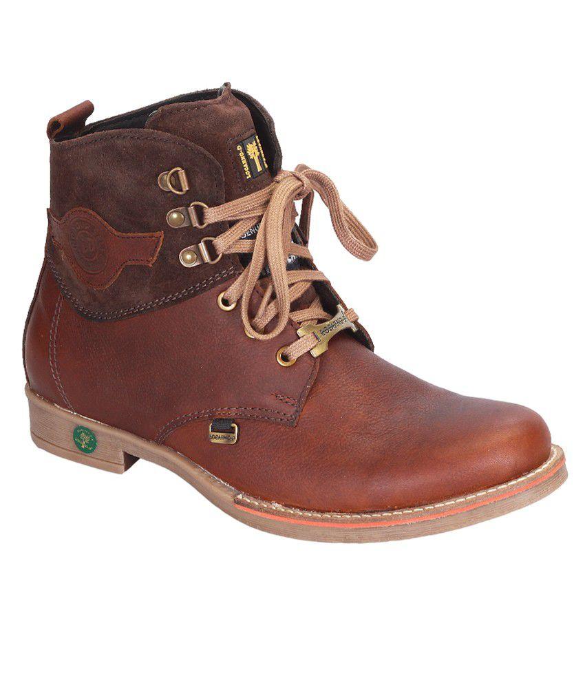 Locarno D Tan Boots