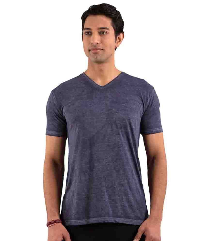 Foreveryoga Navy Men's Basic Tee