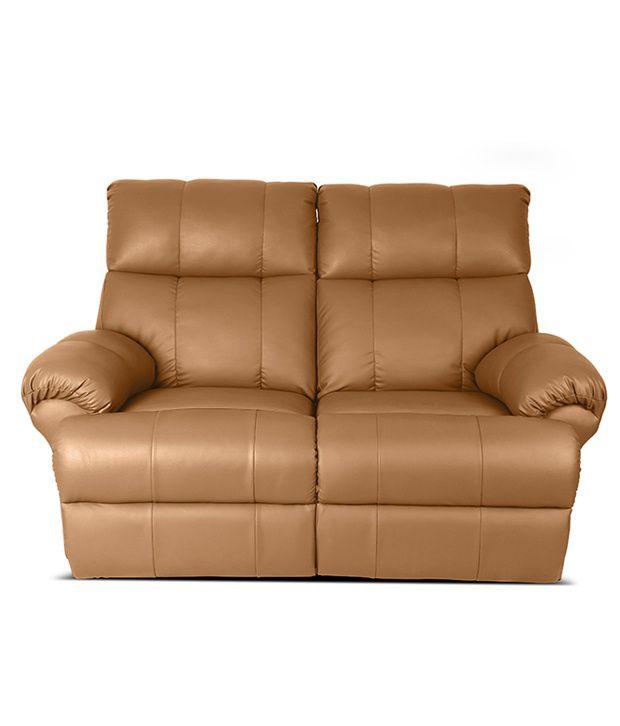 Little Nap Casa Leatherette 2 Seater Recliner