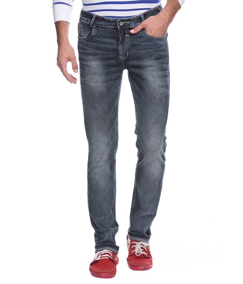 Mufti Black Super Slim Fit Jeans