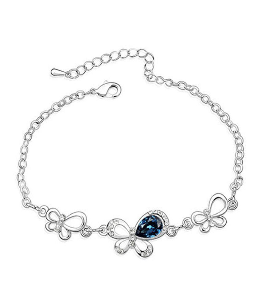 Young & Forever Silver Designer Bracelet