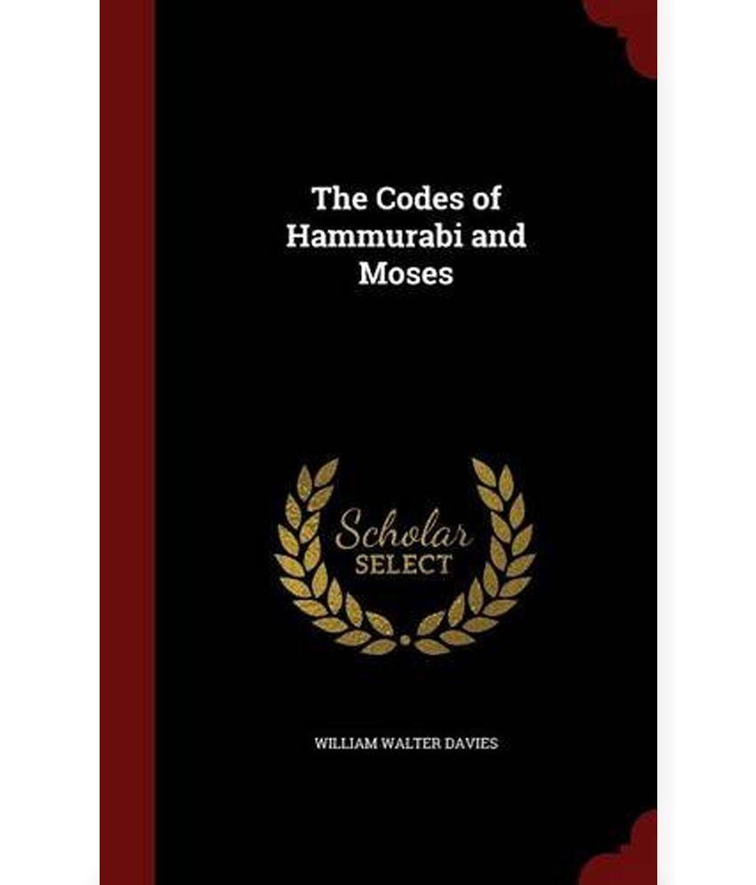 code of hammurabi and the book