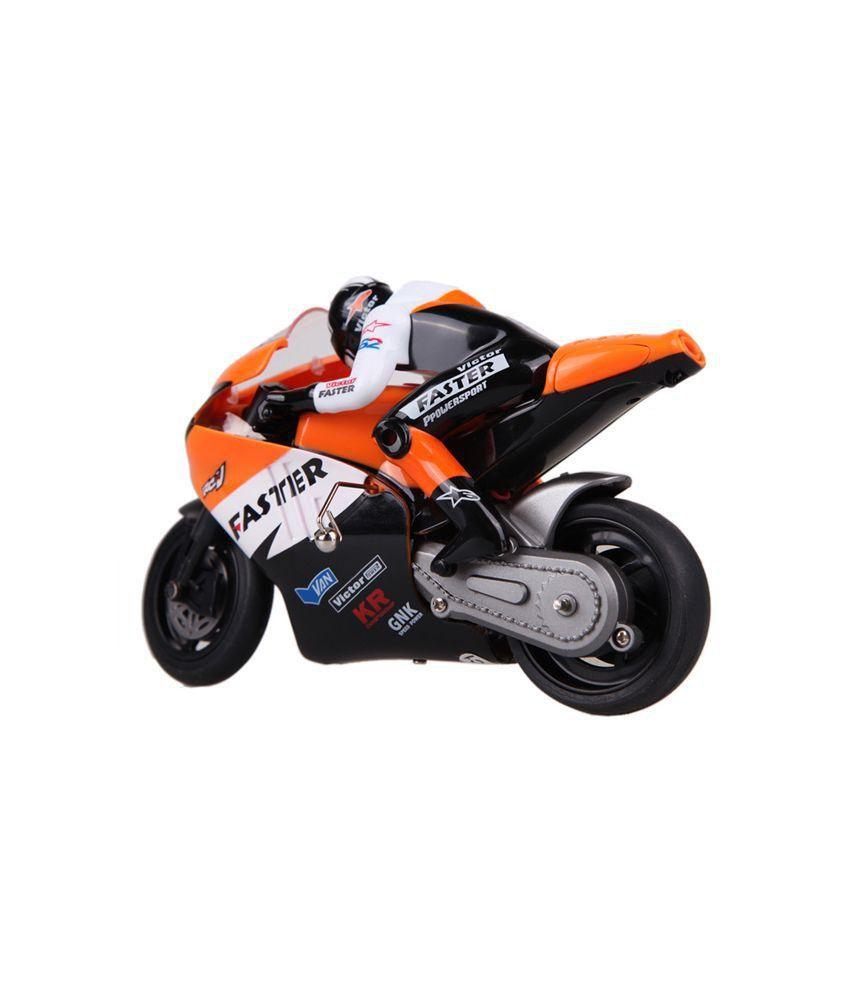 AdraxX Orange Remote Control Toy Bike - Buy AdraxX Orange ...