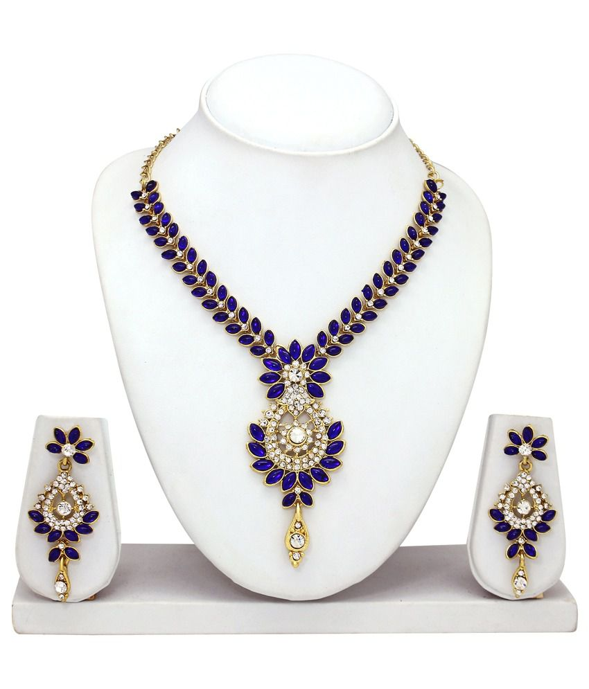 Atasi International Multicolor Alloy Necklace Set