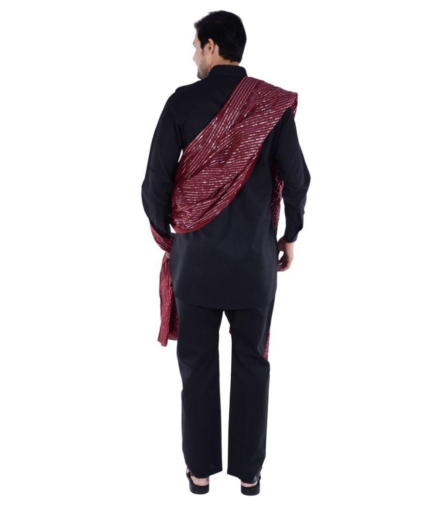 cad9c52ad8 S9 Men Black Pathani Suits No - Buy S9 Men Black Pathani Suits No ...