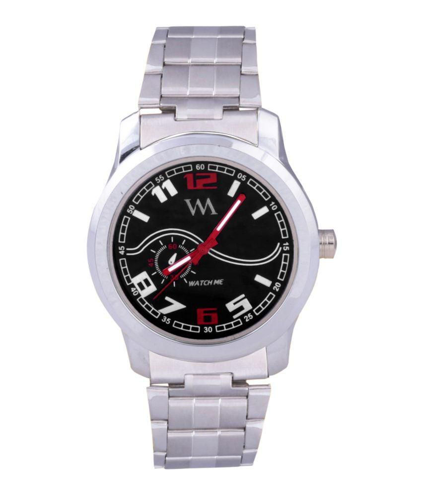 Watch Me Watch Me Silver Analog Watch