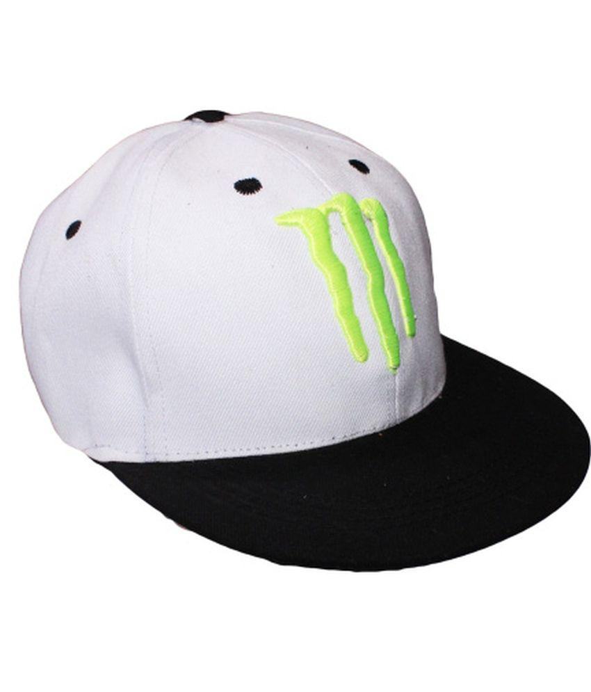 Air Fashion White Cotton Baseball Cap