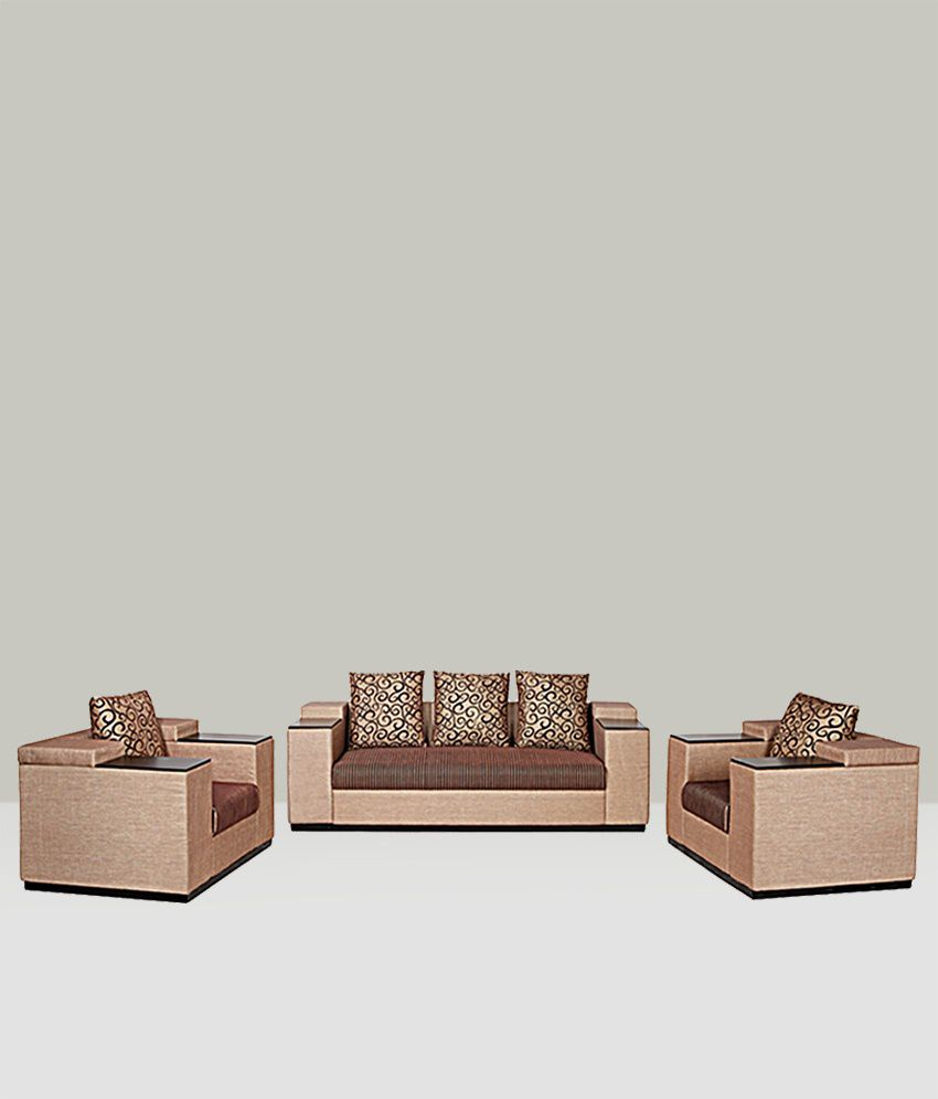 Sofa Set Cover Price In India: Viva 5 Seater Sofa Set ( 3+1+1)