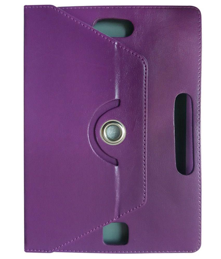 Fastway Flip Cover For Hp Omni 10 Inch 32 Gb-purple