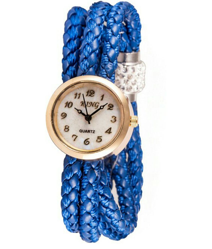 King Blue Analog Watch