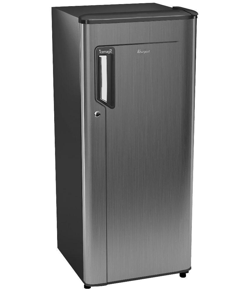WHIRLPOOL 190 Ltrs 205 IM PWCOL PRM Direct Cool Single Door Refrigerator Grey Titanium