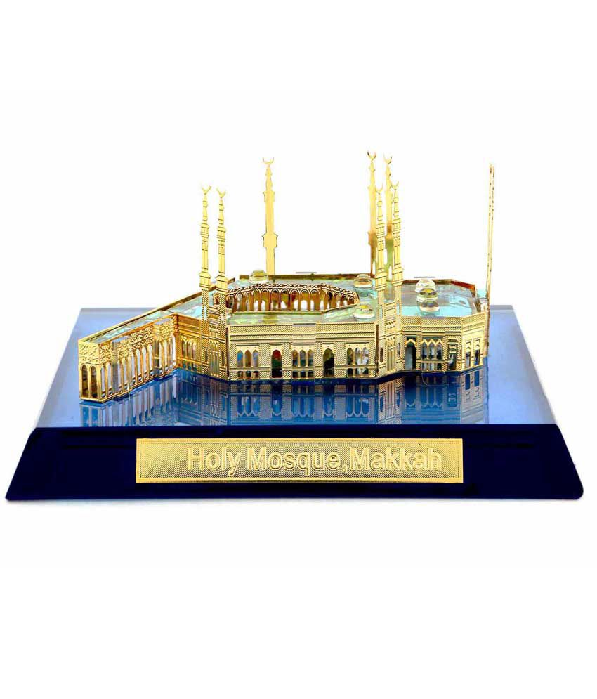 Crystal 24k Holy Mosque Makkah Home Decor